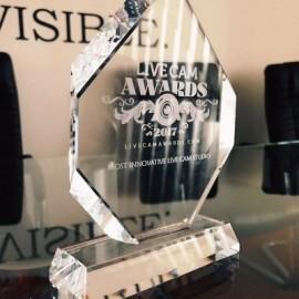 Studio 20 awarded Best live cam studio at Live Cam Awards 2017