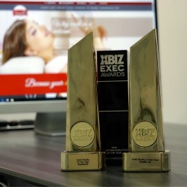 Studio 20 - Best Cam Studio in the World at Xbiz Awards for the second consecutive year