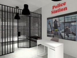 cam studio los angeles police station